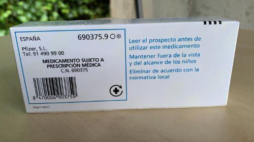 Vacuna Nimenrix reverso en español